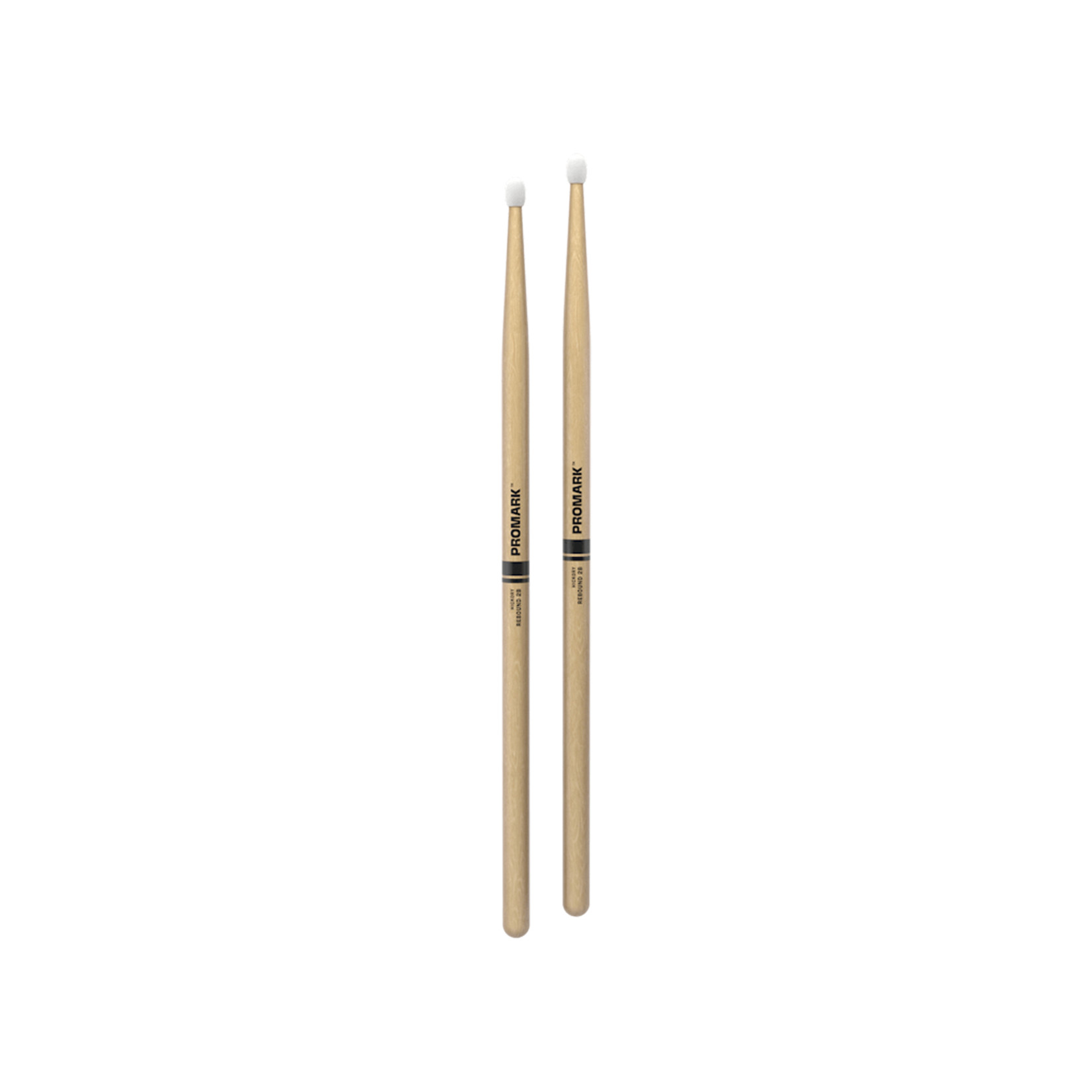 Promark ProMark Rebound 2B Hickory Nylon Tip Drumstick