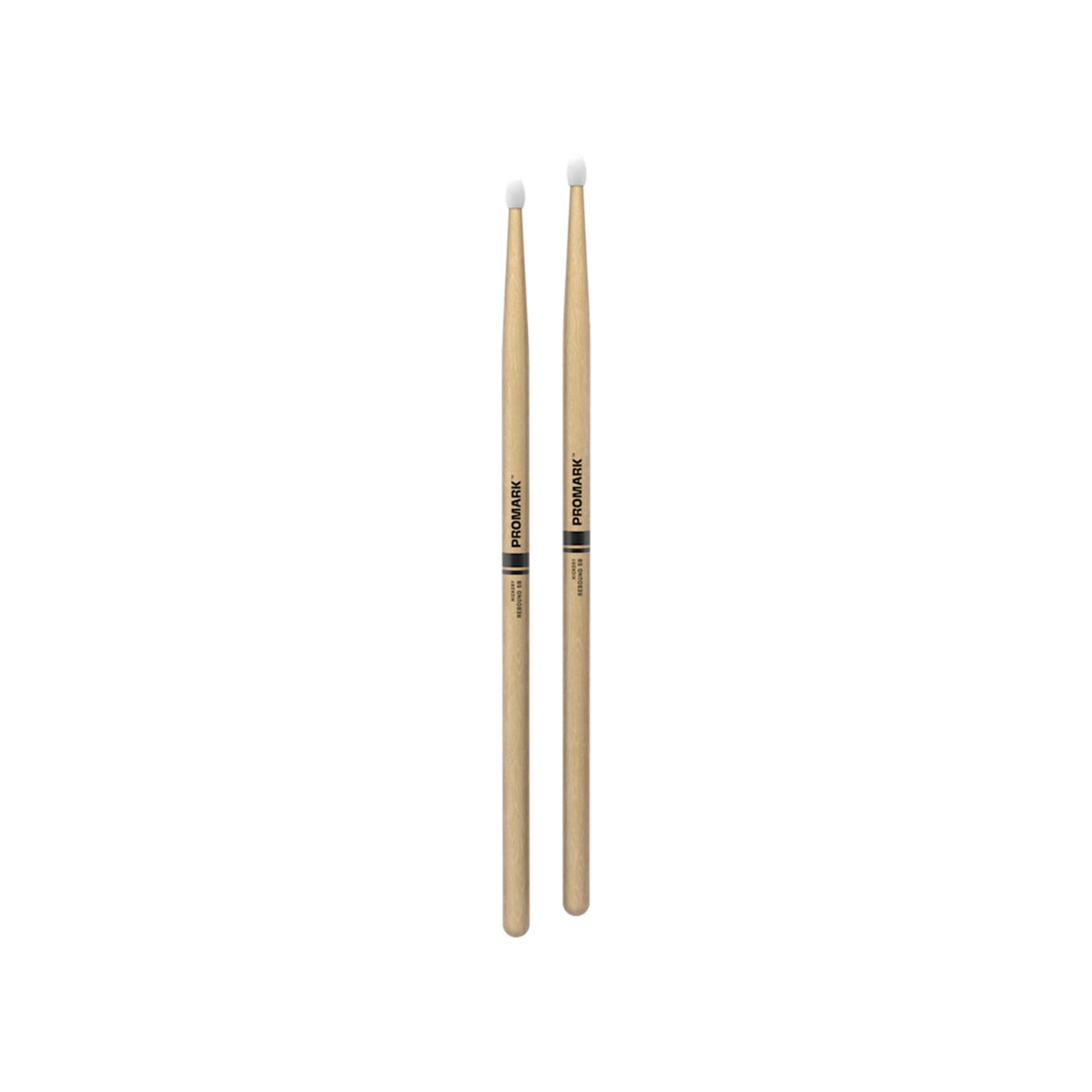 Promark ProMark Rebound 5B Hickory Nylon Tip Drumstick