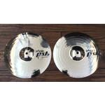Paiste USED Paiste PST8 Cajon Hi-Hat Cymbals (Pair) (Discontinued)