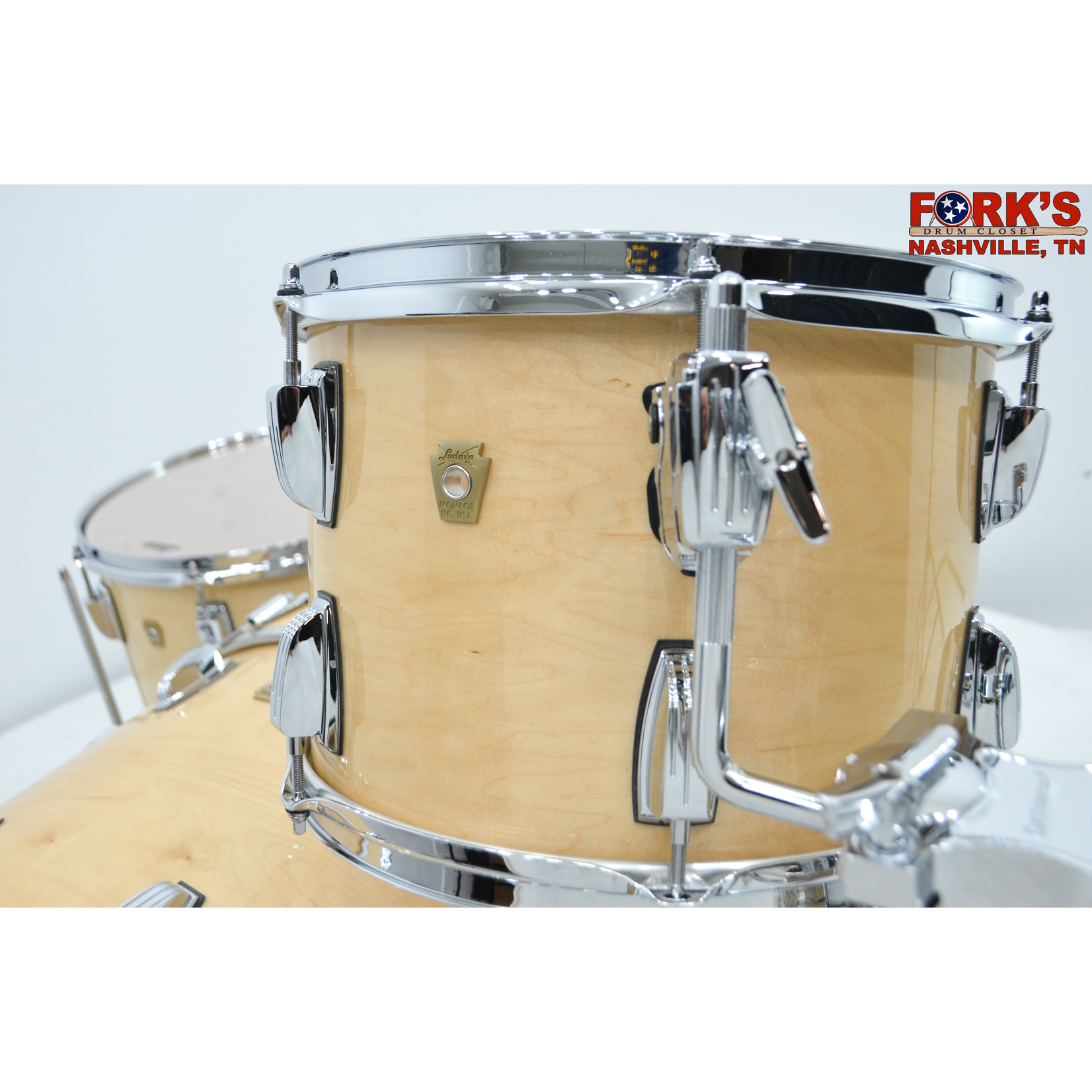 """Ludwig Ludwig Classic Maple 3pc Drum Kit - """"Natural Maple Gloss"""""""