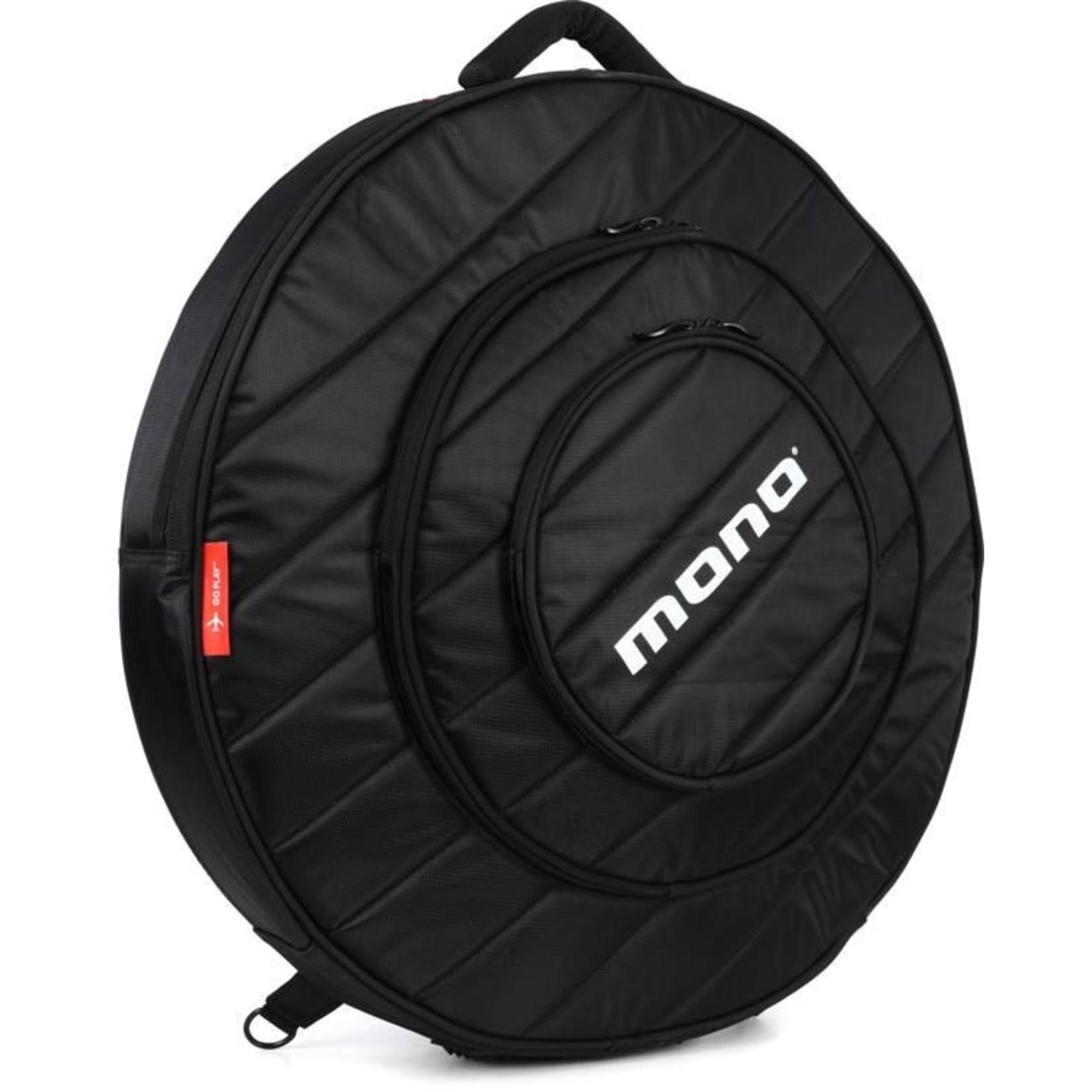 """Mono Mono Cymbal Bag 22"""" (JET BLACK)"""