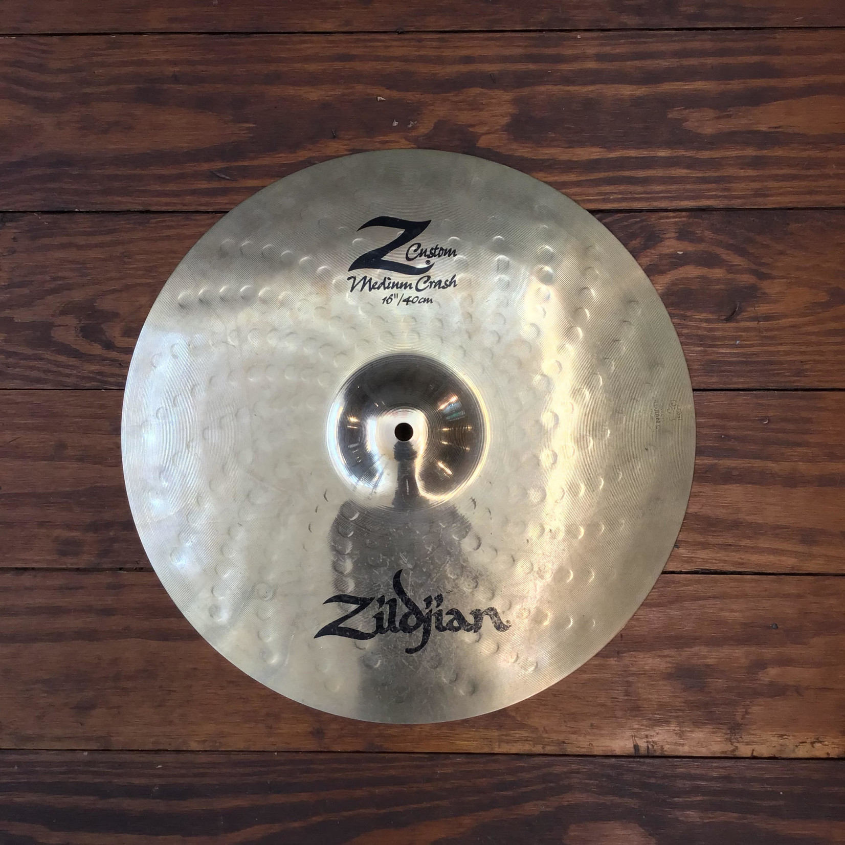 "Zildjian USED Zildjian Z Custom 16"" Medium Crash Cymbal"