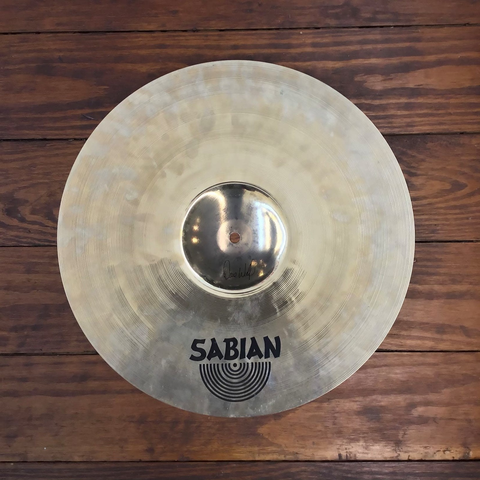 "Sabian USED Sabian HHX 16"" Evolution Crash Cymbal"
