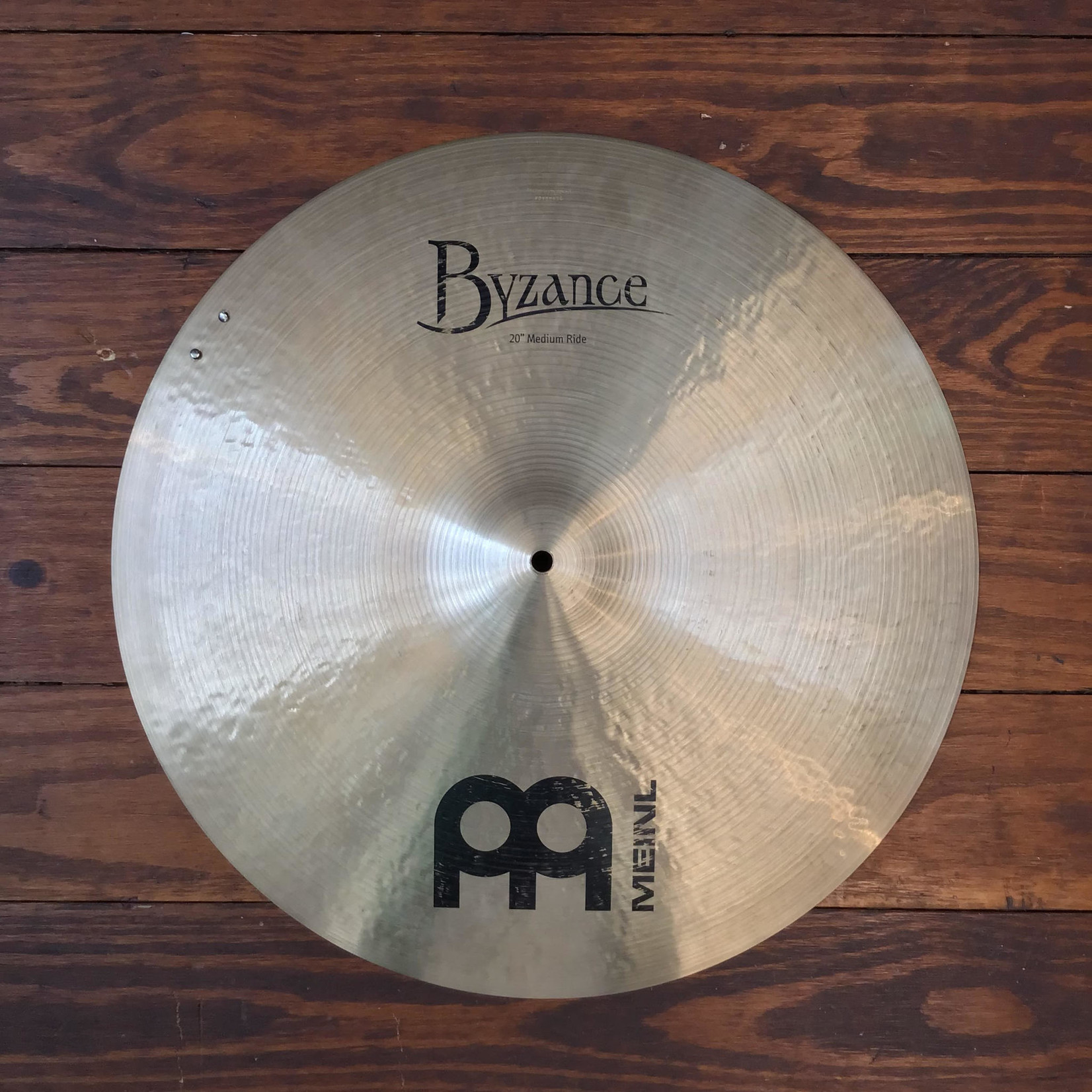 """Meinl USED Meinl Byzance Traditional 20"""" Medium Sizzle Ride Cymbal (Discontinued)"""
