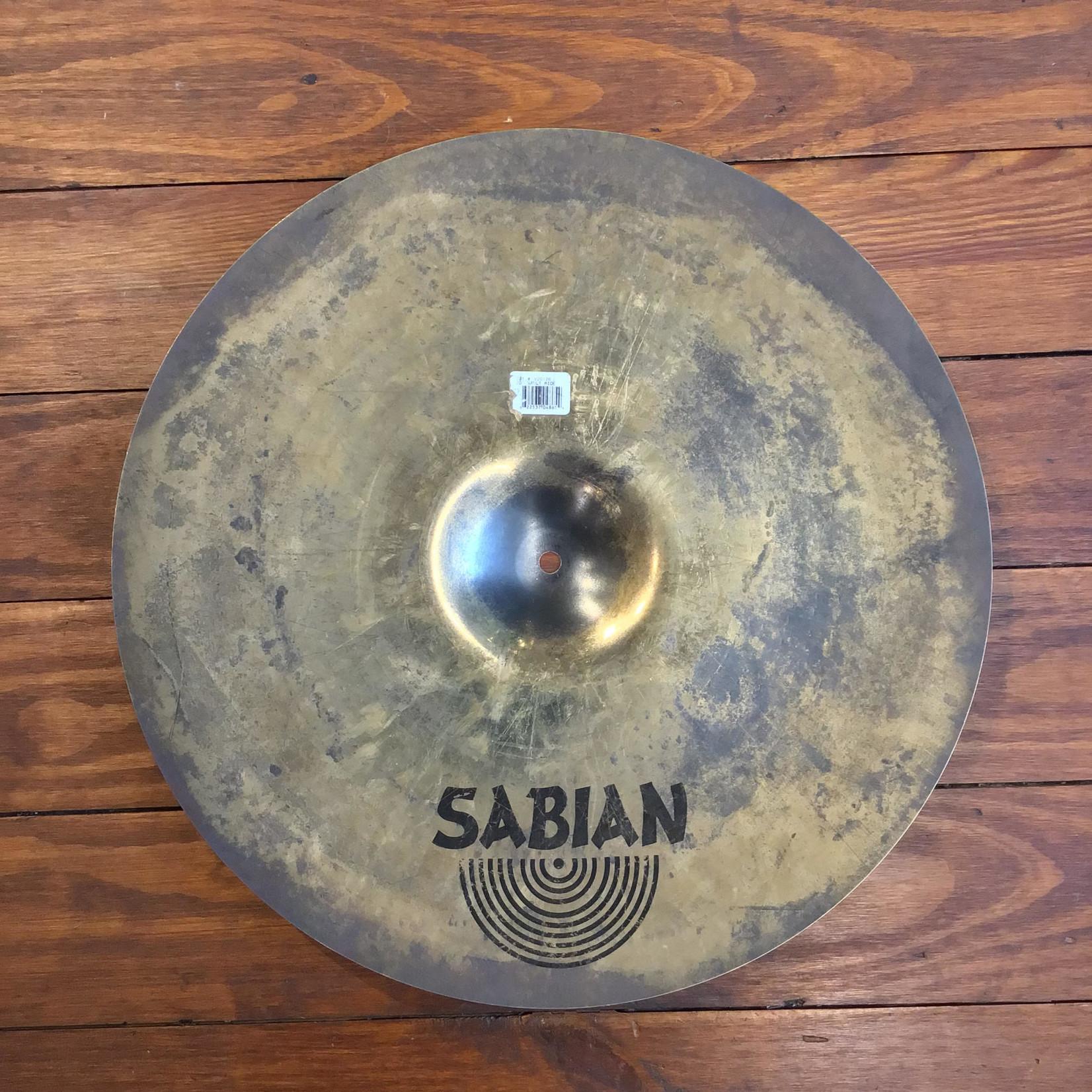 "Sabian USED Sabian Vault 20"" Ride Cymbal"