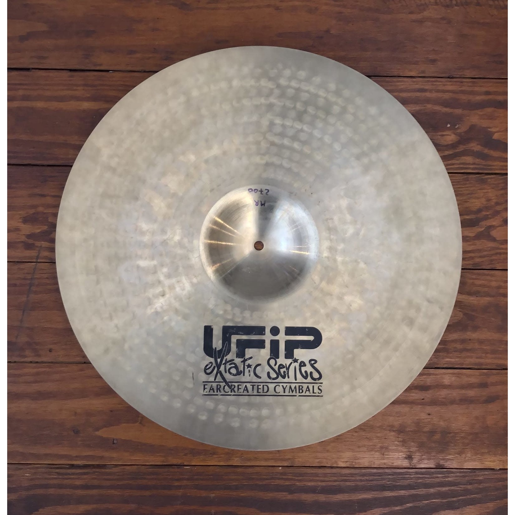 """UFIP USED UFIP Extatic Series 20"""" Ride Cymbal"""