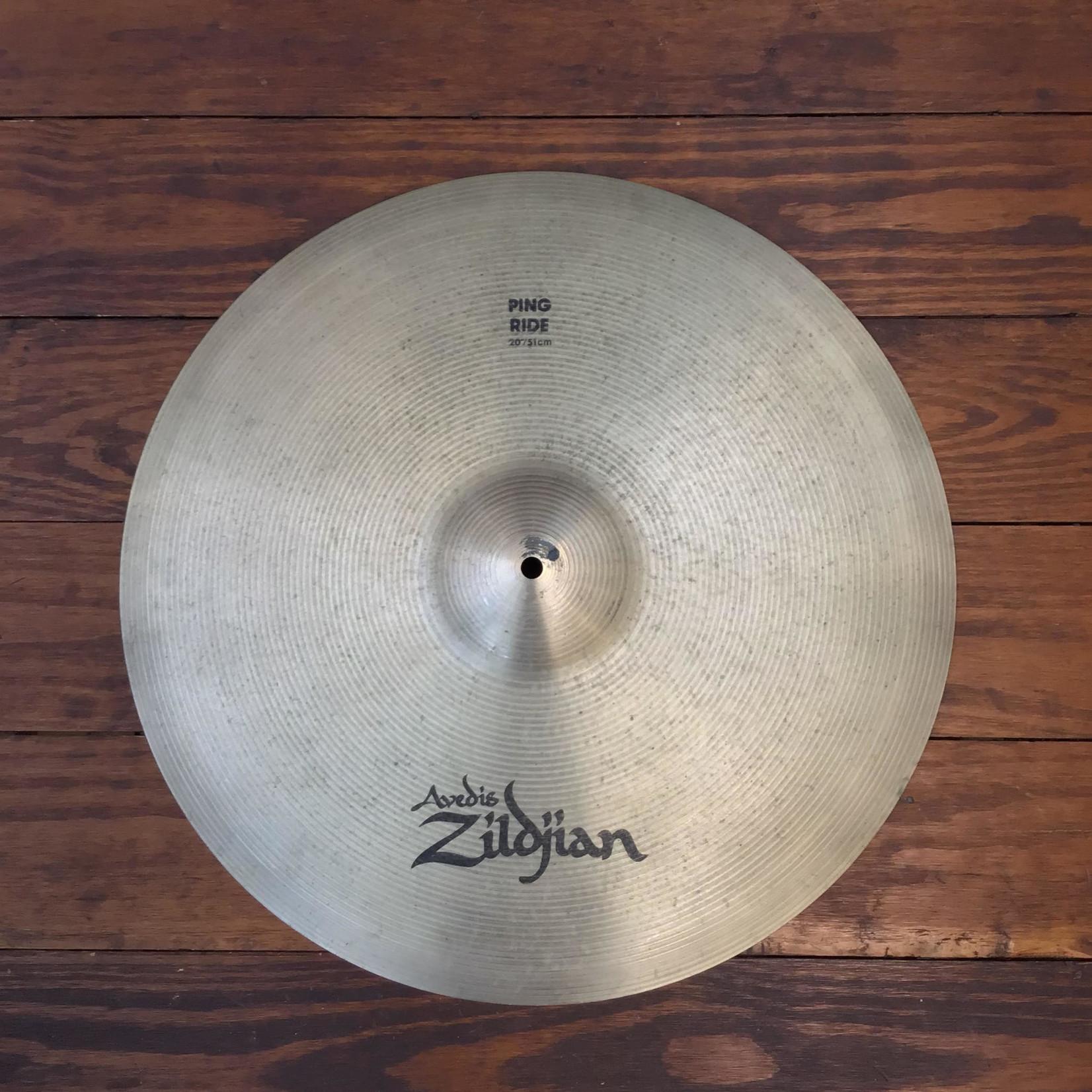 """Zildjian USED Zildjian A 20"""" Ping Ride Cymbal"""