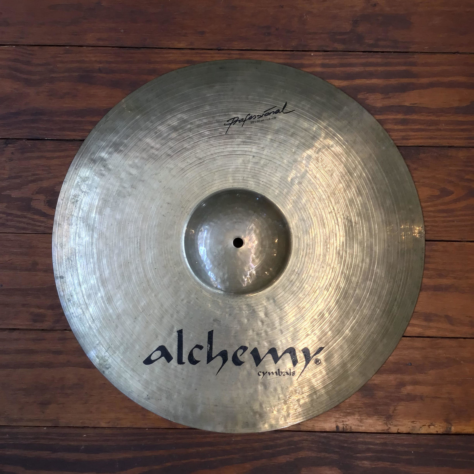 """Istanbul Agop USED Alchemy Professional 20"""" Rock Ride Cymbal"""