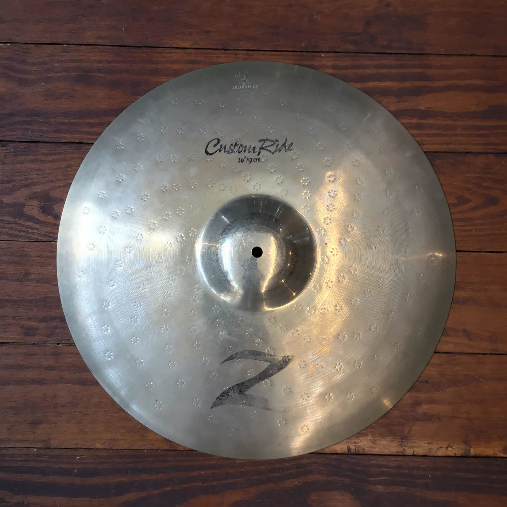 """Zildjian USED Zildjian Z Custom 20"""" Ride Cymbal"""