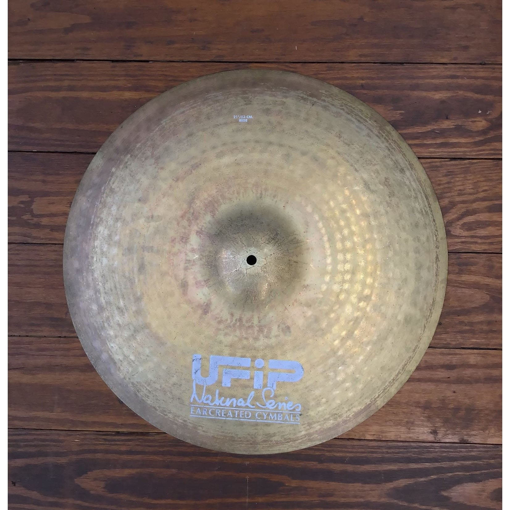 """UFIP USED UFIP Natural Series 21"""" Ride Cymbal"""