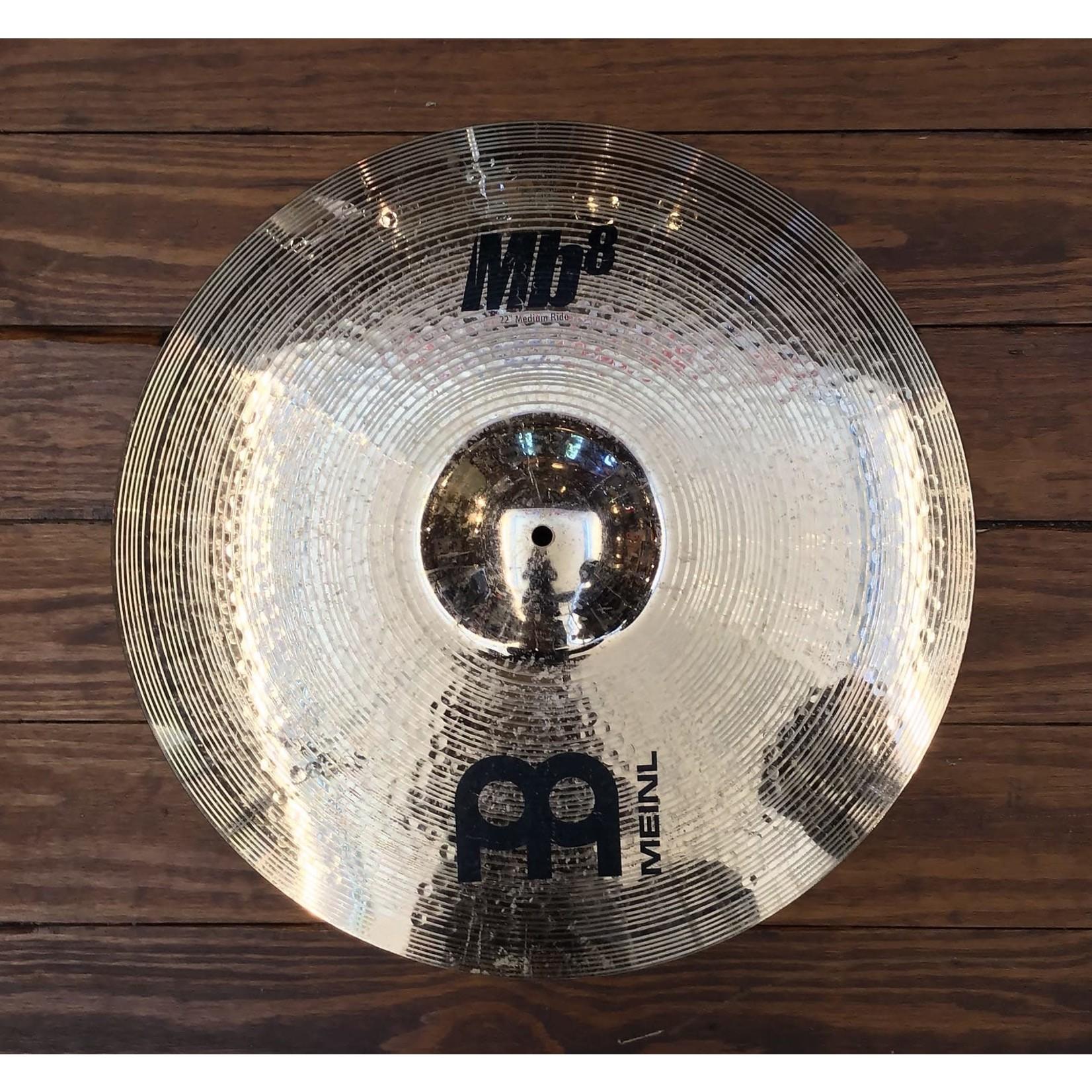 "Meinl USED Meinl Mb8 22"" Medium Ride Cymbal"