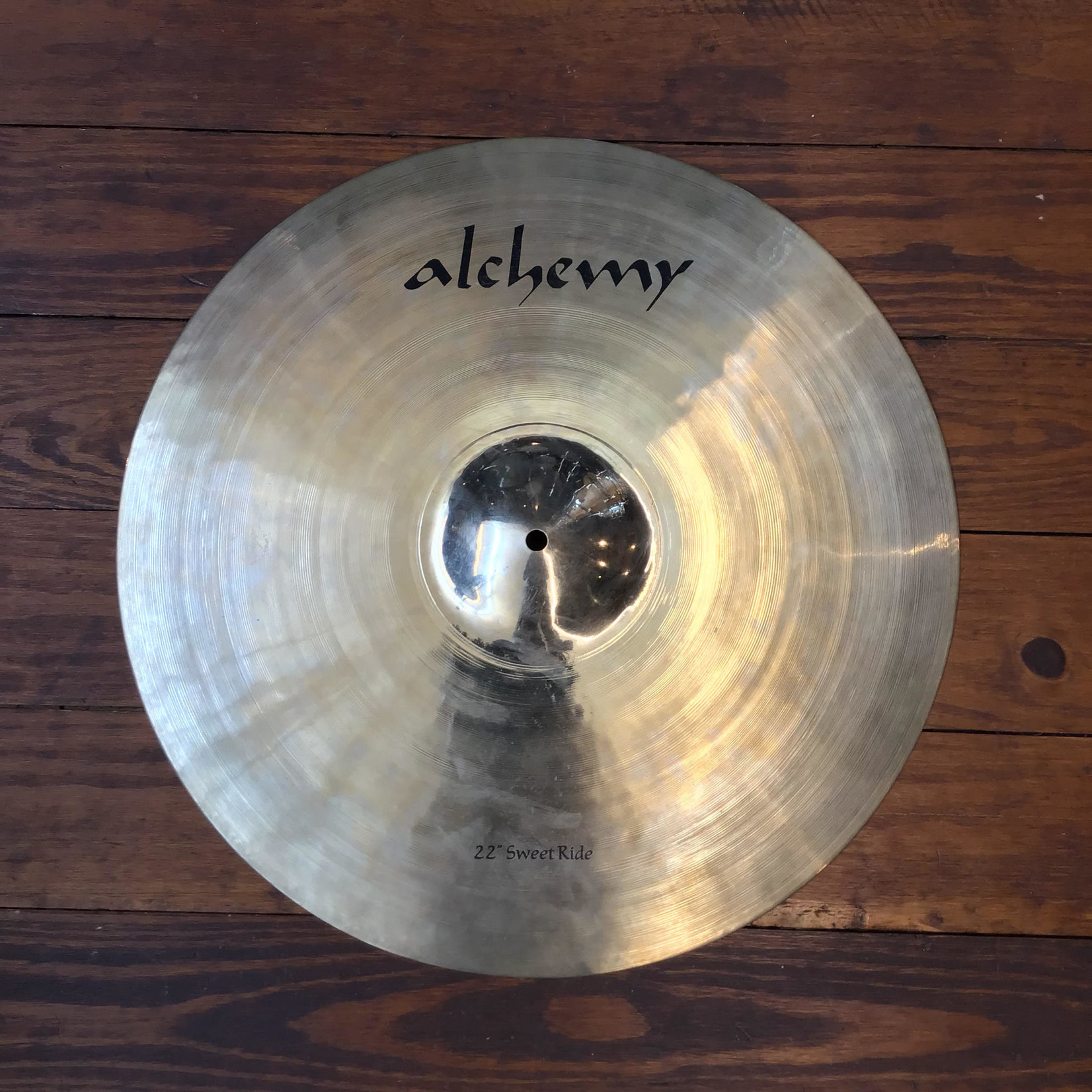 """Istanbul Agop USED Alchemy 22"""" Sweet Ride Cymbal"""
