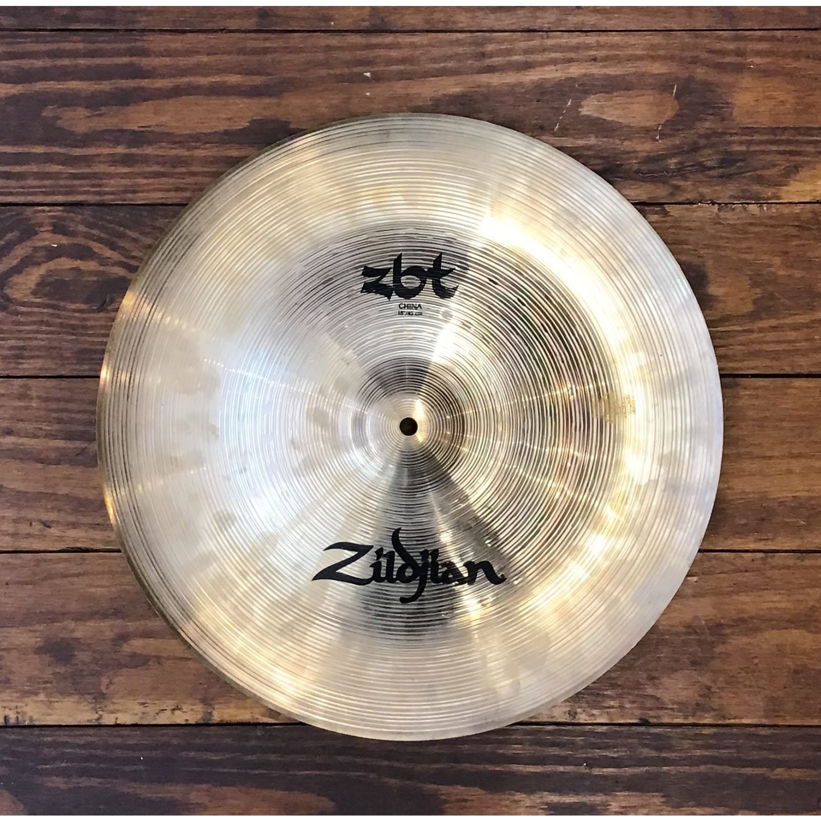 "Zildjian USED Zildjian ZBT 18"" China Cymbal"