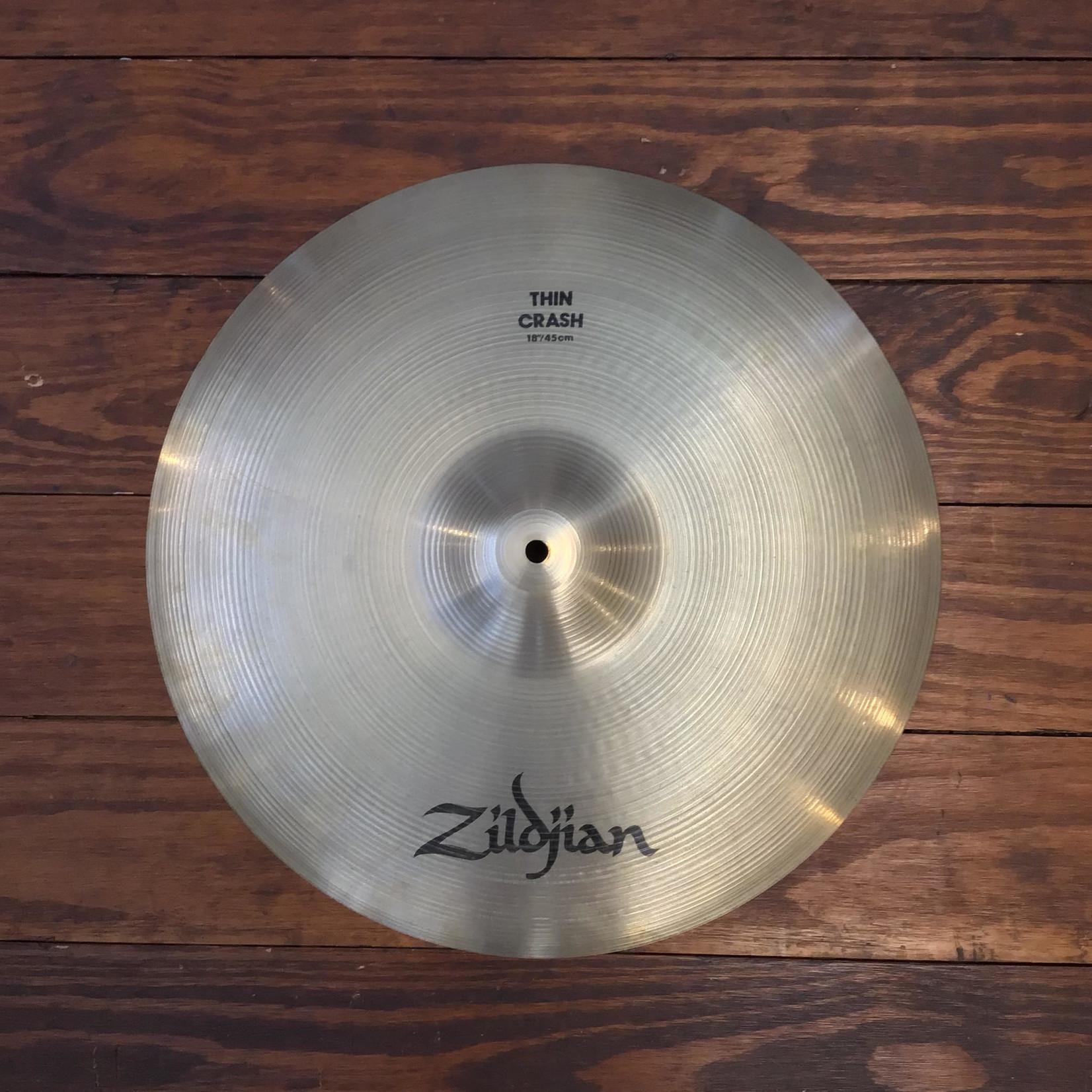 """Zildjian USED Zildjian A 18"""" Thin Crash Cymbal"""