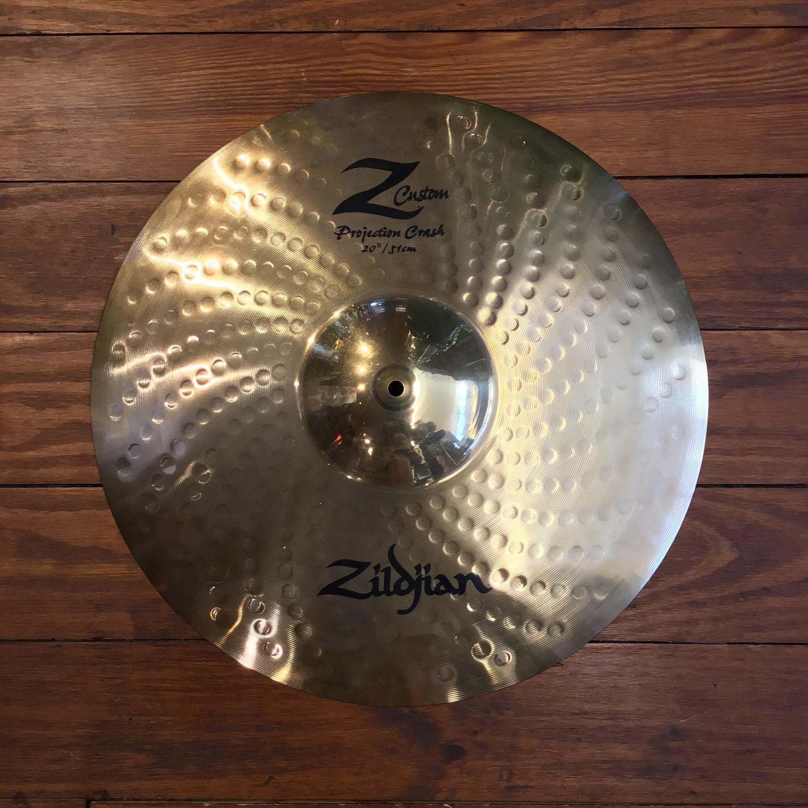 "Zildjian USED Zildjian Z Custom 20"" Projection Crash Cymbal"