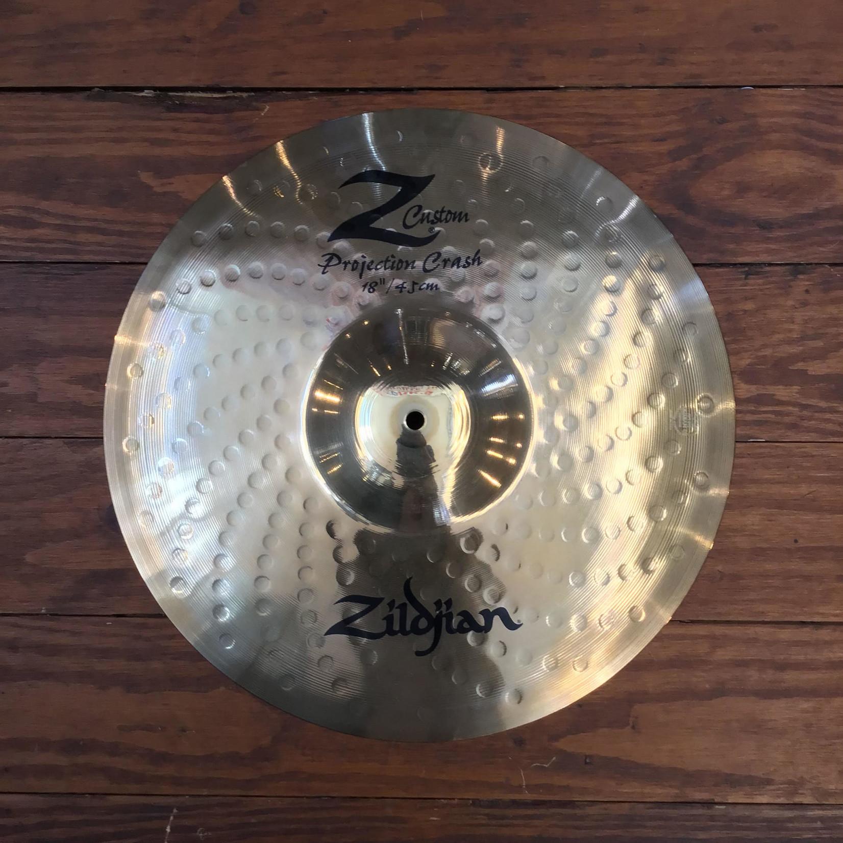 "Zildjian USED Zildjian Z Custom 18"" Projection Crash Cymbal"
