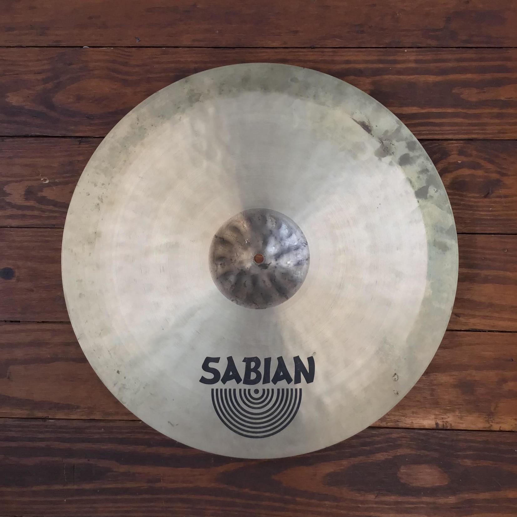"Sabian USED Sabian HHX 20"" Stage Ride Cymbal"