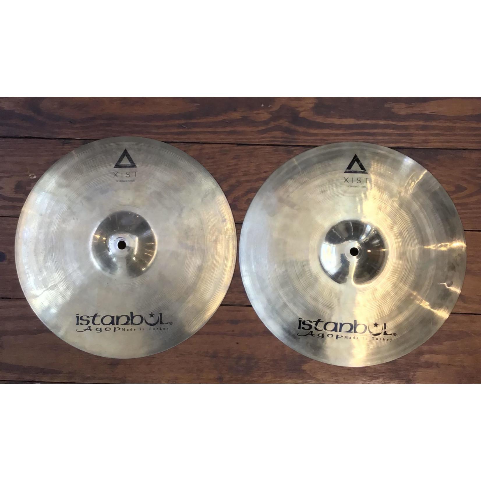 "Istanbul Agop USED Istanbul Agop XIST 14"" Brilliant Hi-Hat Cymbals (Pair)"