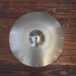 """Zildjian USED Zildjian A 18"""" Crash Cymbal (1960's)"""