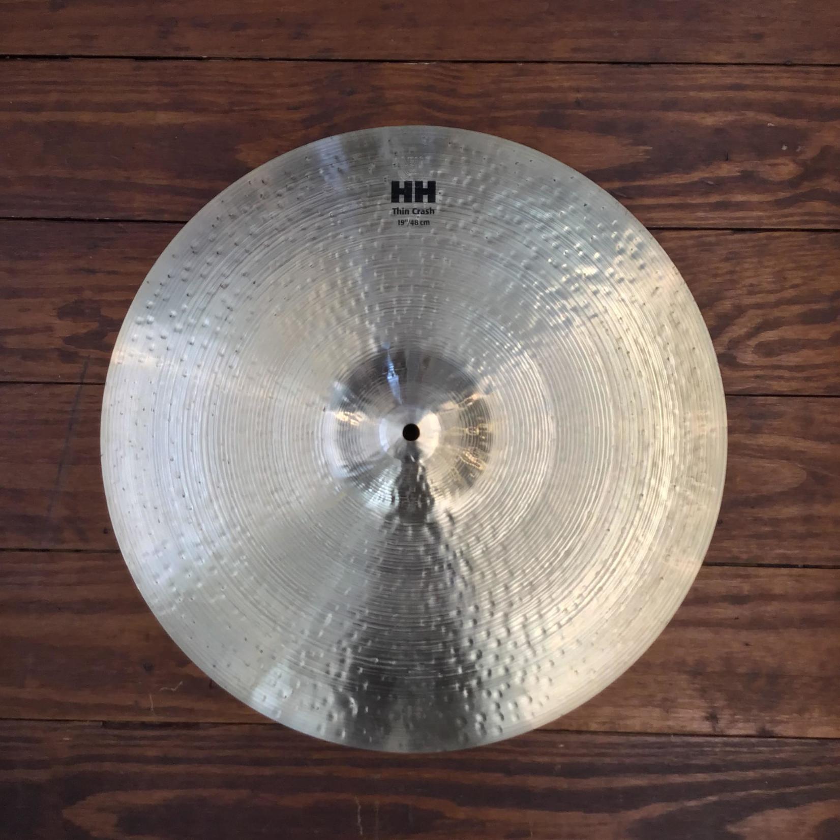 "Sabian USED Sabian HH 19"" Thin Crash Cymbal"