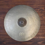 """Meinl USED Meinl Byzance Vintage  22"""" Sand Crash/Ride Cymbal (NO RIVETS)"""