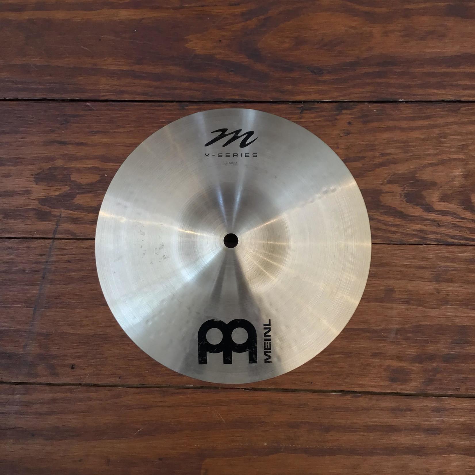 "Meinl USED Meinl M Series 10"" Splash Cymbal"
