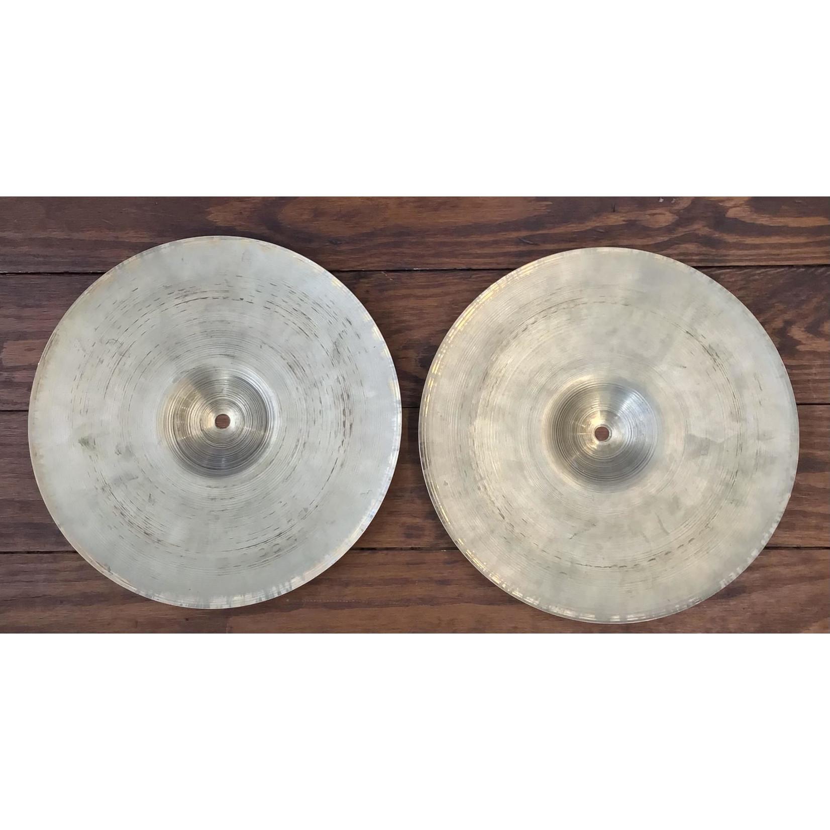 Zildjian USED Zildjian 1970's (Thin Stamp) Hi-Hat Cymbals (Pair)