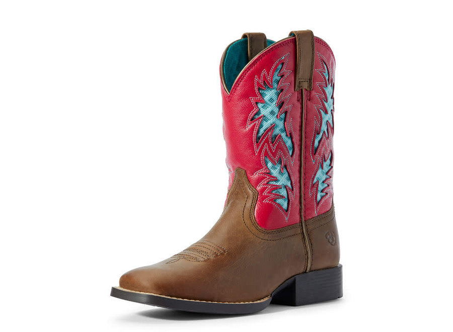 10031489 Cowboy VenTek Homestead BRN/Hot Pink