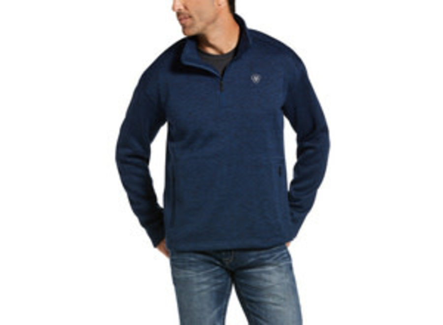 10033005 Caldwell 1/4 zip sweater