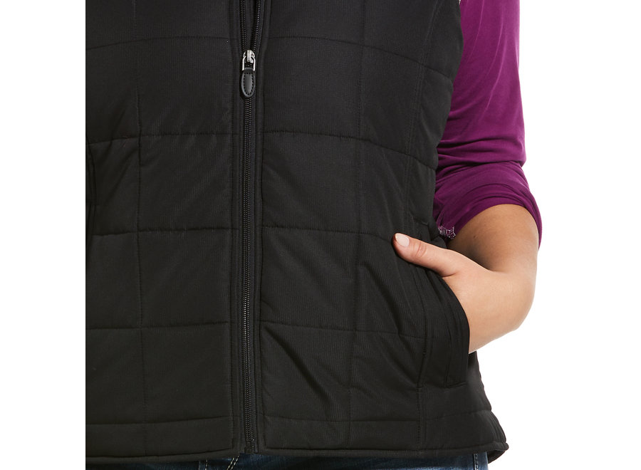 10032984 Real Crius Black Vest