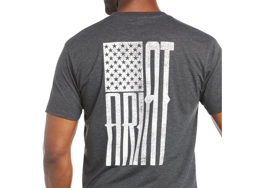 10035622 Charcoal Ariat USA Short sleeve