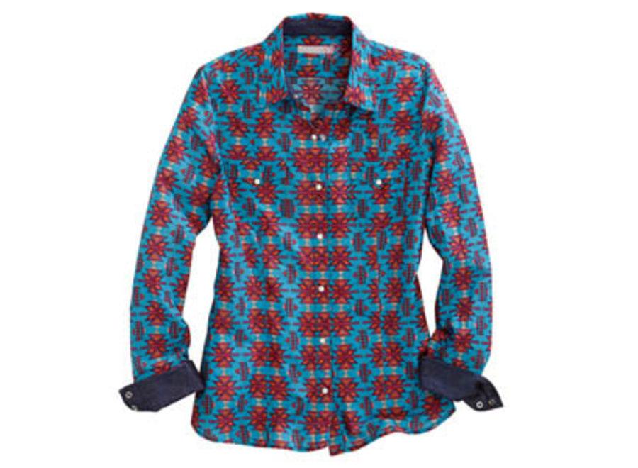 10-50-064-728 blue printed shirt