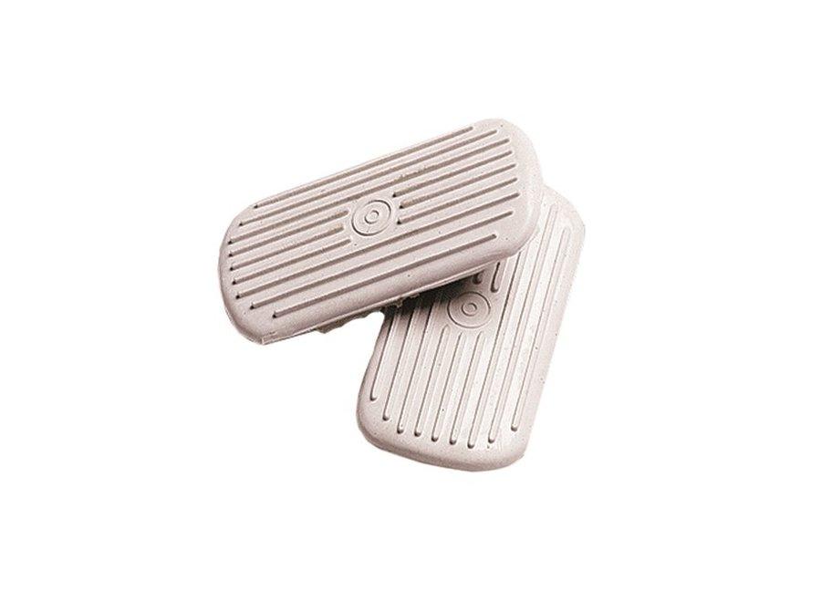 1036P English Stirrup Pad 31/2 white