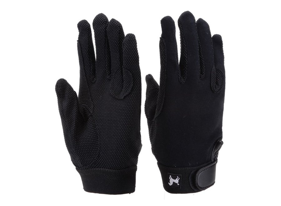 1561 black cotton pimple glove 5