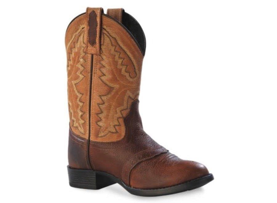 1936Y oldwest Brown boots 5.5