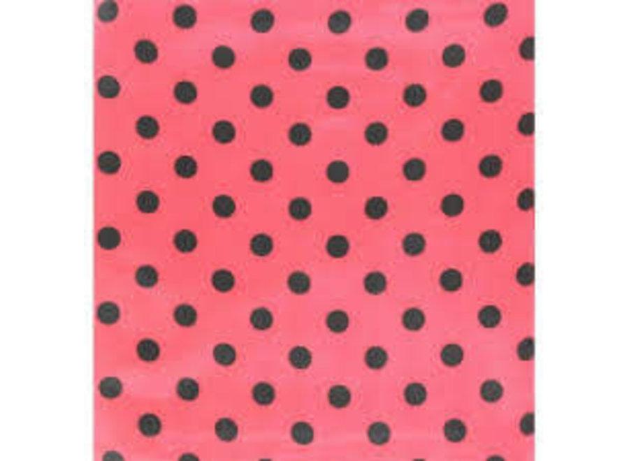 09046 POKE A DOT RAGS RED 33X33