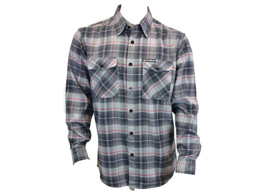 126002-040 Sougan Flannel Button L/S