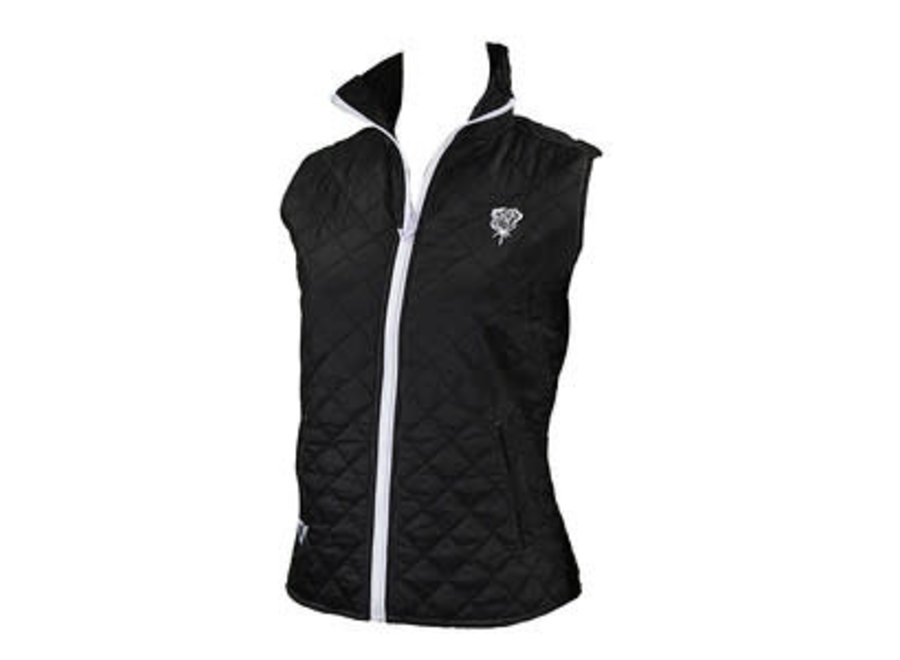 286162- Rose Arrow Quilted vest