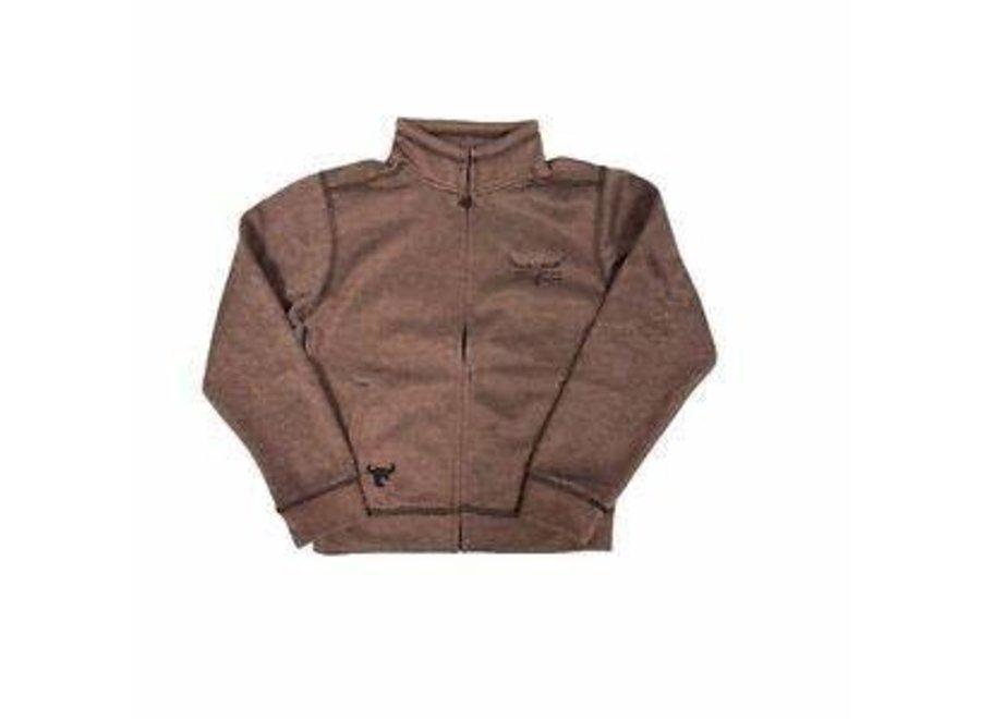 372140 youth cowboy full zip sweatshirt