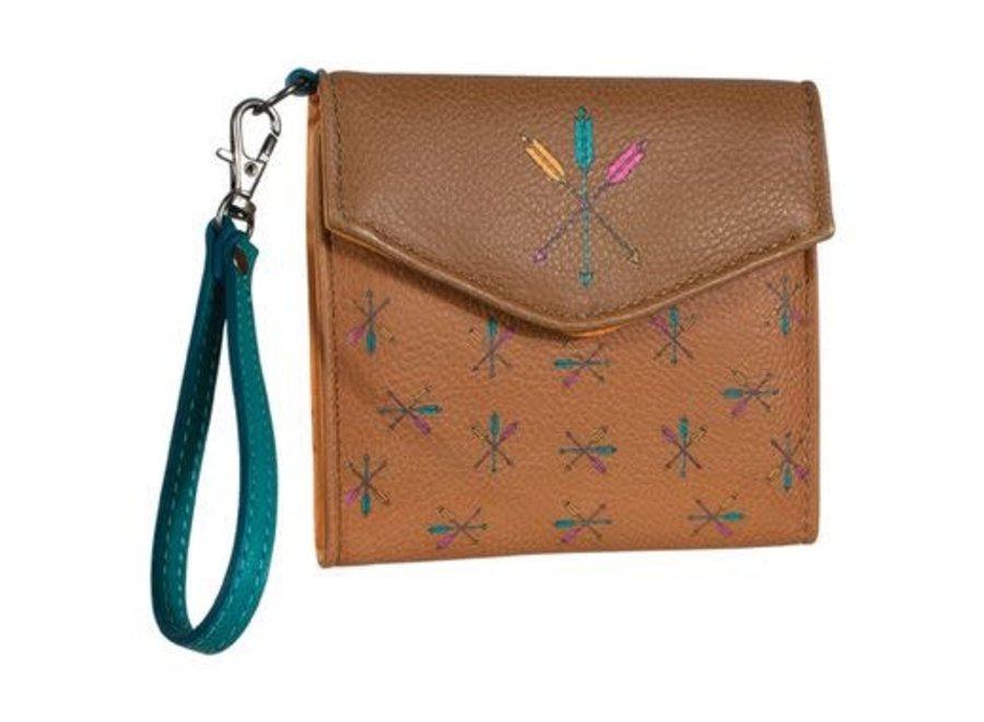 2029626 Mini tri-fold wallet arrow