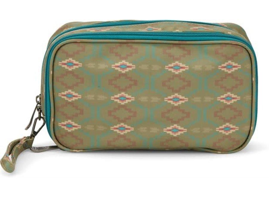 2093688 Green Cosmetic bag moss aztec