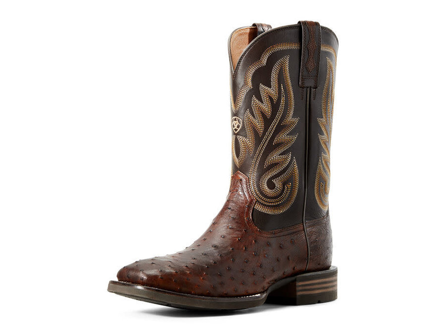 10029721 Promoter ostrich brown boot