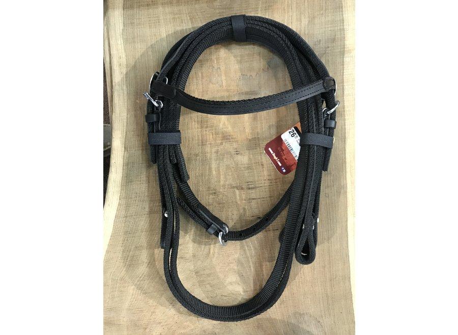 42-7499m nylon mini headstall and reins