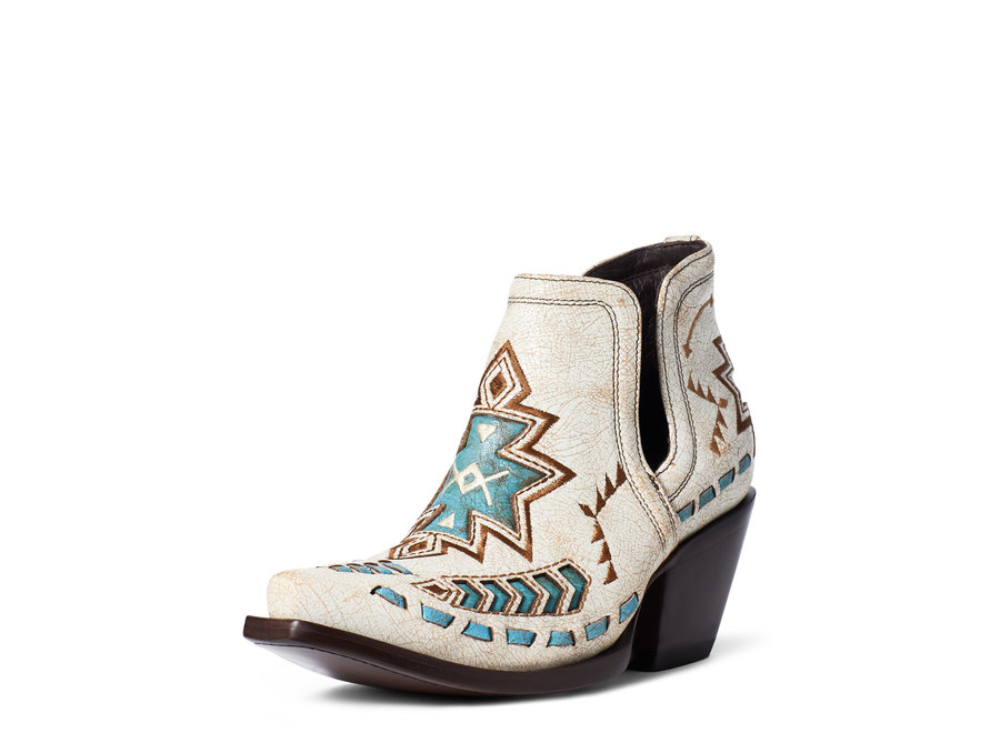 10035972 Dixon Aztec Crackled White