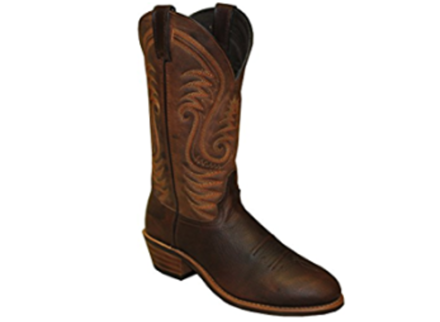 "2108- Abilene 12"" Distressed Brown Cowboy Boot"