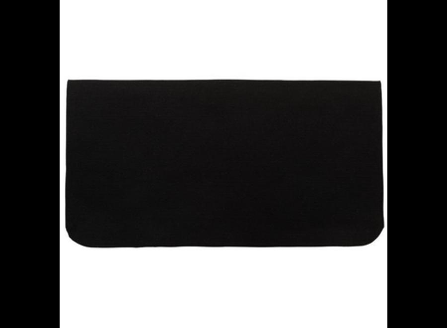 30X32 100% Black Felt S/Pad