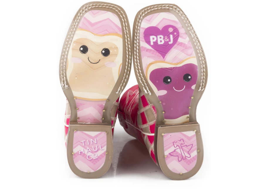 14-119-0077-0843- Pretty in Pink PB&J Sole