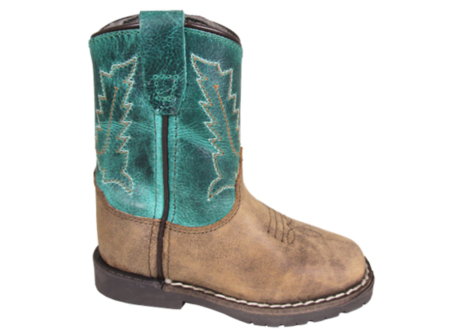 3056T- Brown Distress/ Turquoise