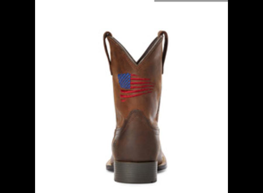 10034408 Patriot II distressed Brown