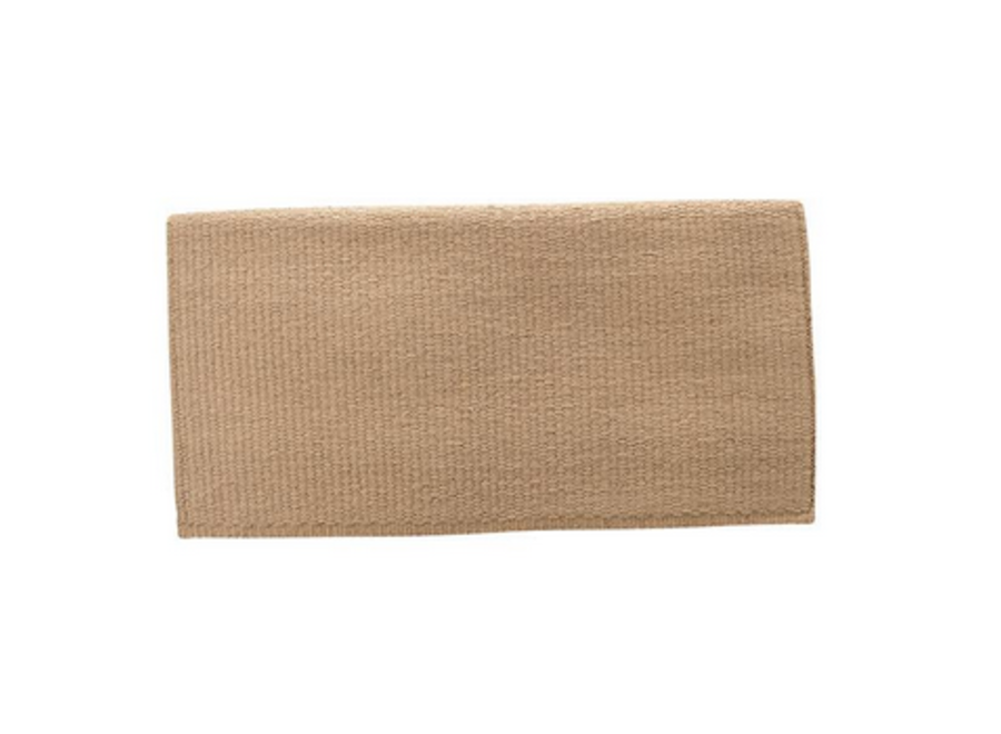 35-1640 new zealand wool saddle Blanket